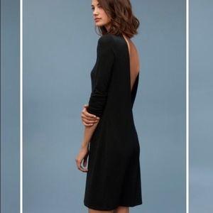 HOST PICK 🤩 Wilfred Free Black Dress Open Back